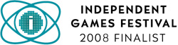Independent Games Festival 2008 Finalist