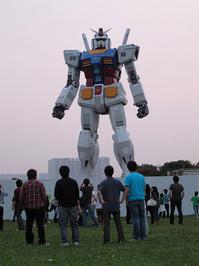 18-meter tall Gundam in Odaiba, Tokyo