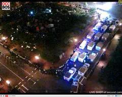 Occupy-Boston from the live stream