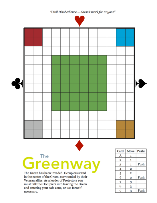 The Greenway Board (as of 12.October.2011)